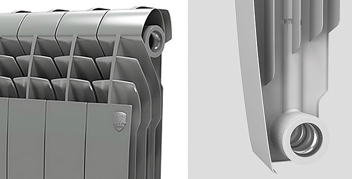 Биметаллический дизайн-радиатор Royal Thermo BiLiner 500 Silver Satin фото